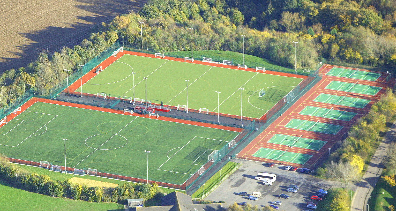 3G Pitch and Athletics Track