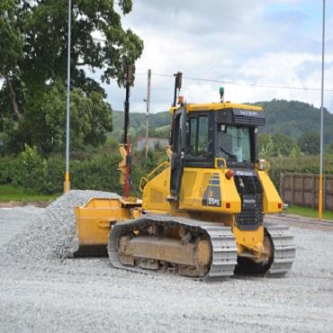 3G Football Pitch Construction - Bala Town