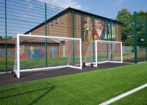 Artificial Pitch goal recess