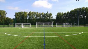 3G Football Pitch Construction – Sheffield's Pilot FA Hubs
