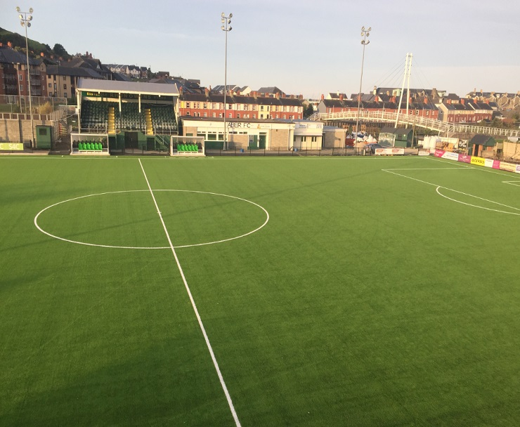 3G surface to football pitch
