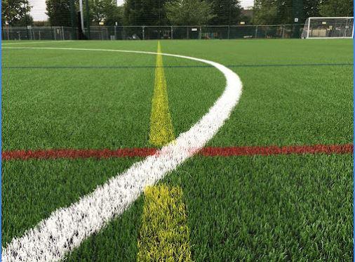 artificial football surface
