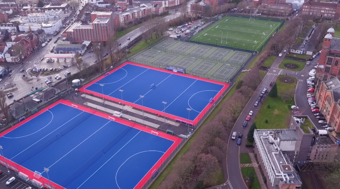 University of Birmingham Water-Based Pitches