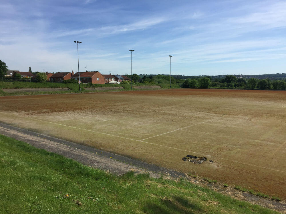 Dorothy Hyman Sports Pitch before resurfacing