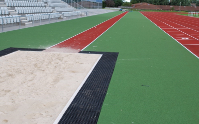Aberdeen Sports Village - Long jump and eight lane track
