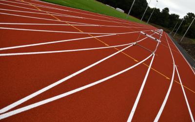 University of Birmingham IAAF athletics track