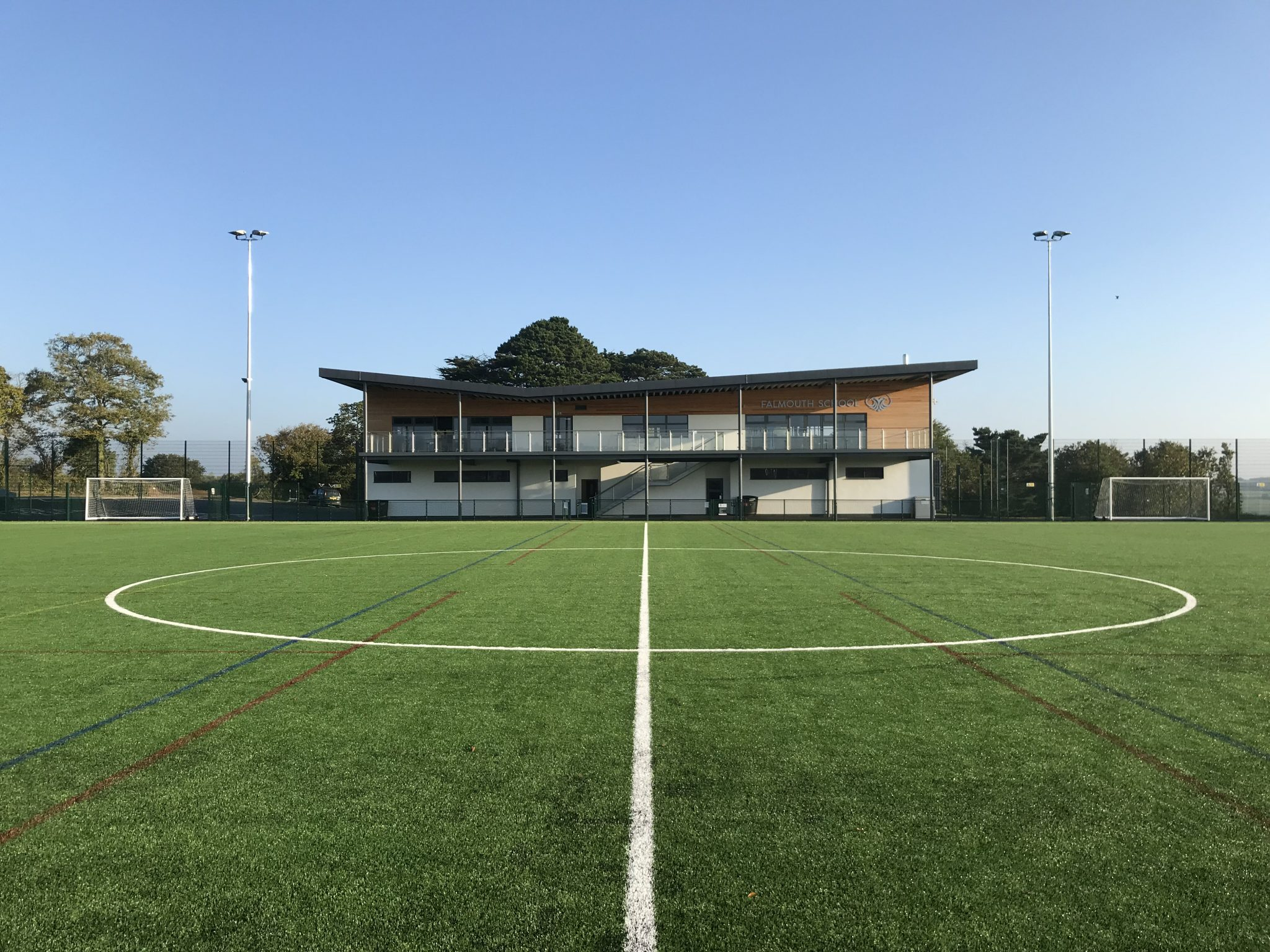 Falmouth School artificial football pitch