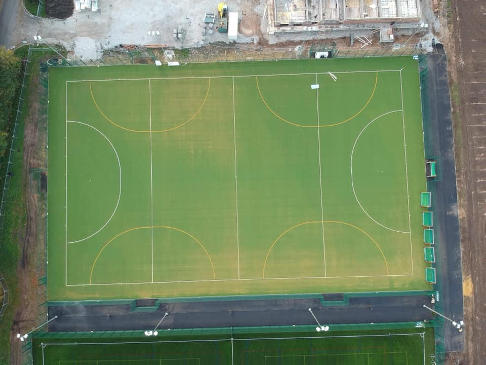 Sand Dressed Hockey Pitch