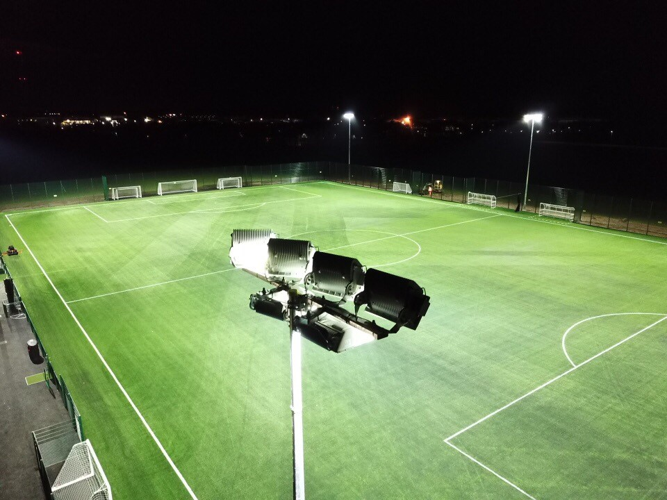 Synthetic Pitch Construction