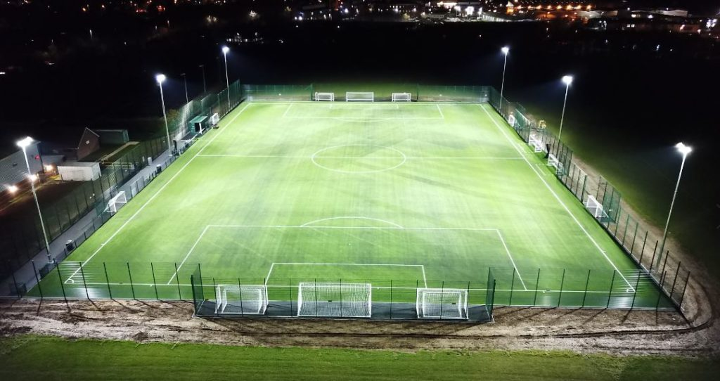Synthetic Pitch Installation