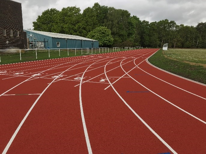 ATR Pirbright Athletics Track refurbishment