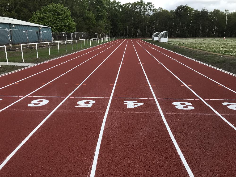 Alexander Barracks Athletics Track