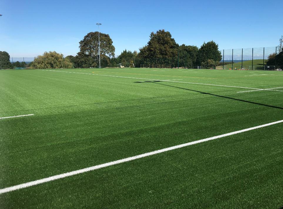 Eirias Park 3G rugby pitch
