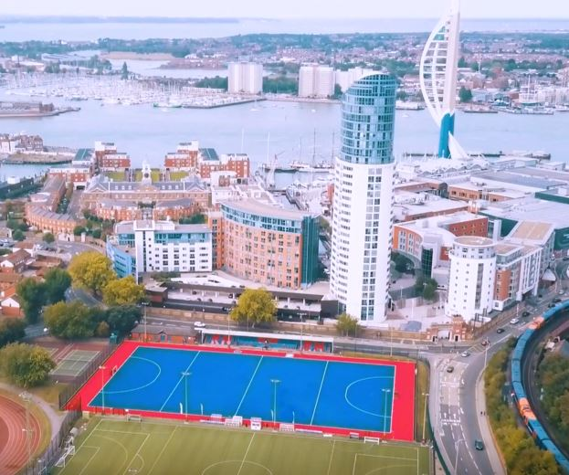 Water-Based Hockey Pitch