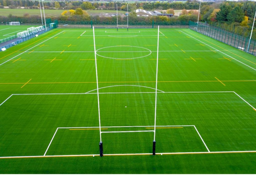 Northern Area Playing Fields Rugby 3G WR Reg 22 pitch