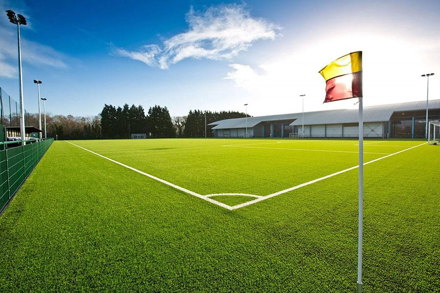 school sports pitch construction