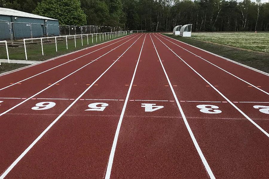 Athletics Track Installation